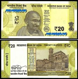Índia - 20 RUPEES 2020