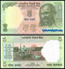 Índia IND5(2002-2008ND)c - 5 RUPEES 2002-2008 ND