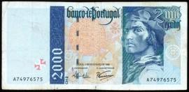 Portugal BP182 Chapa2 - 2000 ESCUDOS 1 Fevereiro 1996 Bartolomeu Dias