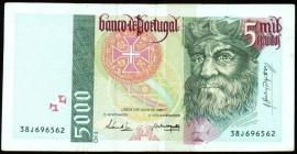 Portugal BP204e Chapa3 - 5000 ESCUDOS 2 Julho 1998 Vasco da Gama 38J696562