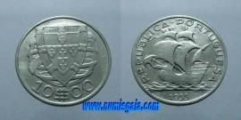 311f KM#582 Portugal - 10 Escudos 1933 (Prata)