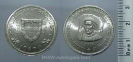 319j KM#588 Portugal - 10 Escudos 1960 Infante D. Henrique (Prata)