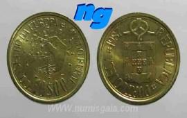 341r KM#638 Portugal - 10 Escudos 1987 Mundo Rural (Latão Níquel)