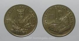 460i KM#719 Portugal - 200 Escudos 1999 Duarte Pacheco Pereira (Cupro-Níquel)