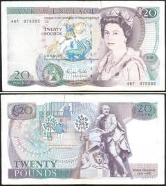 Great Britain 20 POUND 1988ND