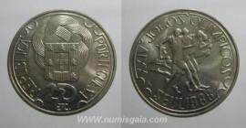 481k KM#643 Portugal - 250 Escudos 1988 Jogos Olímpicos Seul (Cupro-Níquel)