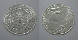 489ab KM#725 Portugal - 500 Escudos 2000 Eça de Queirós (Prata)