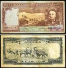 Angola AGO1000(1956)e - 1000 ESCUDOS 15 Agosto 1956 Brito Capelo