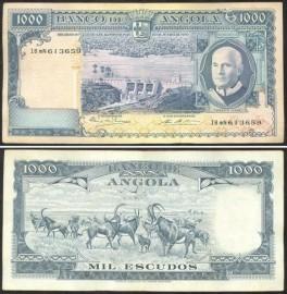 Angola AGO1000(1970)c - 1000 ESCUDOS 10 Junho 1970 Américo Tomás