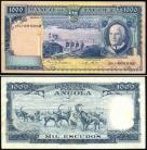 Angola AGO1000(1970)o - 1000 ESCUDOS 10 Junho 1970 Américo Tomás