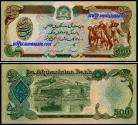 Afeganistão - 500 AFGHANIS 1979-91ND
