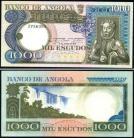 Angola - 1000 ESCUDOS 10 Junho 1973 Luíz de Camões