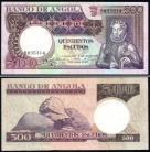 Angola - 500 ESCUDOS 10 Junho 1973 Luíz de Camões