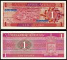 Antilhas Holandesas - 1 GULDEN 1970