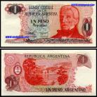 Argentina ARG1(1983-84ND)p - 1 PESO 1983-84ND