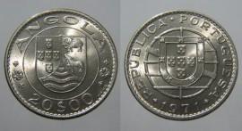 Angola KM#80AO71d - 20 ESCUDOS 1971