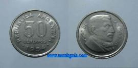 Argentina KM#49AR54 - 50 CENTAVOS 1954