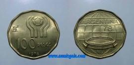 Argentina KM#77AR78 - 100 PESOS 1978