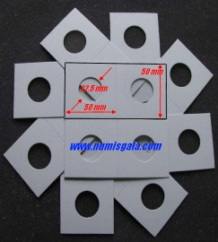 10 alveolos agrafar medida 22,5 mm