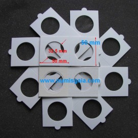 10 alveolos autocolantes medida 32,5 mm