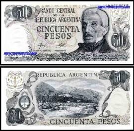 Argentina - 50 PESOS 1976-78ND
