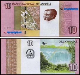 Angola AGO10(2012)d - 10 KWANZAS 2012