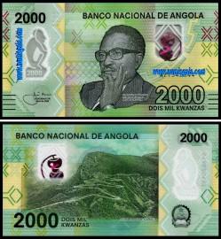 Angola - 2000 KWANZAS 2020
