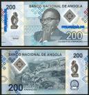 Angola - 200 KWANZAS 2020