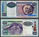 Angola - 500 KWANZAS 1991