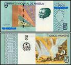 Angola AGO5(2012) - 5 KWANZAS 2012