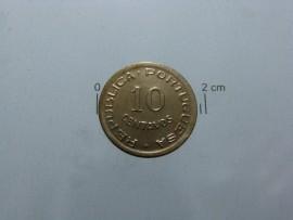 Angola KM#70AO49a - 10 CENTAVOS 1949