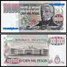 Argentina - 100000 PESOS 1979-83ND