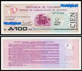Argentina - 100 AUSTRALES 1981