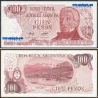 Argentina - 100 PESOS 1978ND