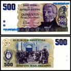 Argentina - 500 PESOS 1984ND