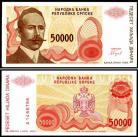 Bósnia Herzegovínia - 50000 DINARA 1993