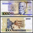 Brasil - 1 CRUZADO NOVO sobre 1000 CRUZADOS (1989ND)
