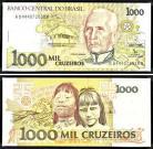 Brasil BRA1000(1990-91)b - 1000 CRUZADOS ND(1990-91)