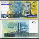 Brasil BRA100(1986-88ND)d - 100 CRUZADOS (1987ND)