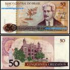Brasil BRA50(1986-88ND)s - 50 CRUZADOS 1986-88 ND