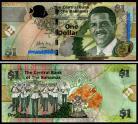 Bahamas - 1 DOLLAR 2015