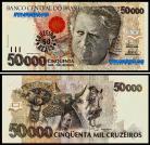 Brasil - 50 REAIS sobre 500000 CRUZEIROS (Ovpt) 1993ND
