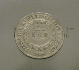 Brasil KM#464BR1858 - 500 REIS 1858 (SILVER)