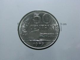 Brasil KM#580aBR77 - 50 CENTAVOS 1977