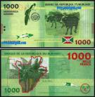 Burundi - 1000 FRANCS 2015