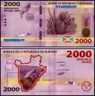 Burundi - 2000 FRANCS 2015