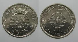 Cabo Verde KM#12CV68j - 5 ESCUDOS 1968