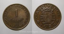 Cabo Verde KM#8CV53 - 1 ESCUDO 1953