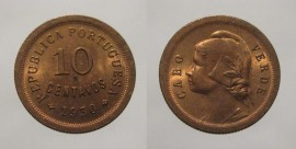 Cabo Verde KM#2CV30i - 10 CENTAVOS 1930