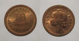 Cabo Verde KM#2CV30k - 10 CENTAVOS 1930